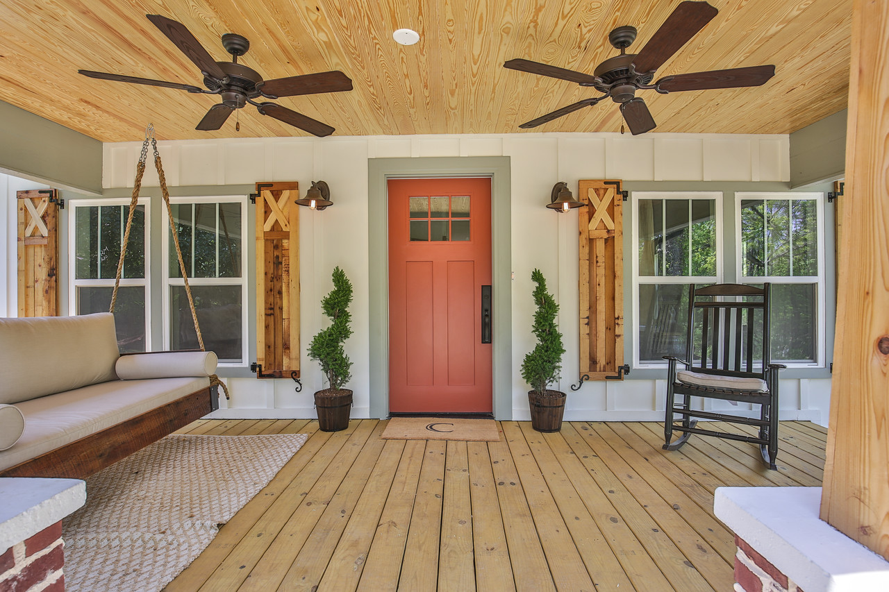 Custom bed swing: Four Oak Bed Swings, Lighting: Savoy House, Entry handleset: Delaney Hardware.