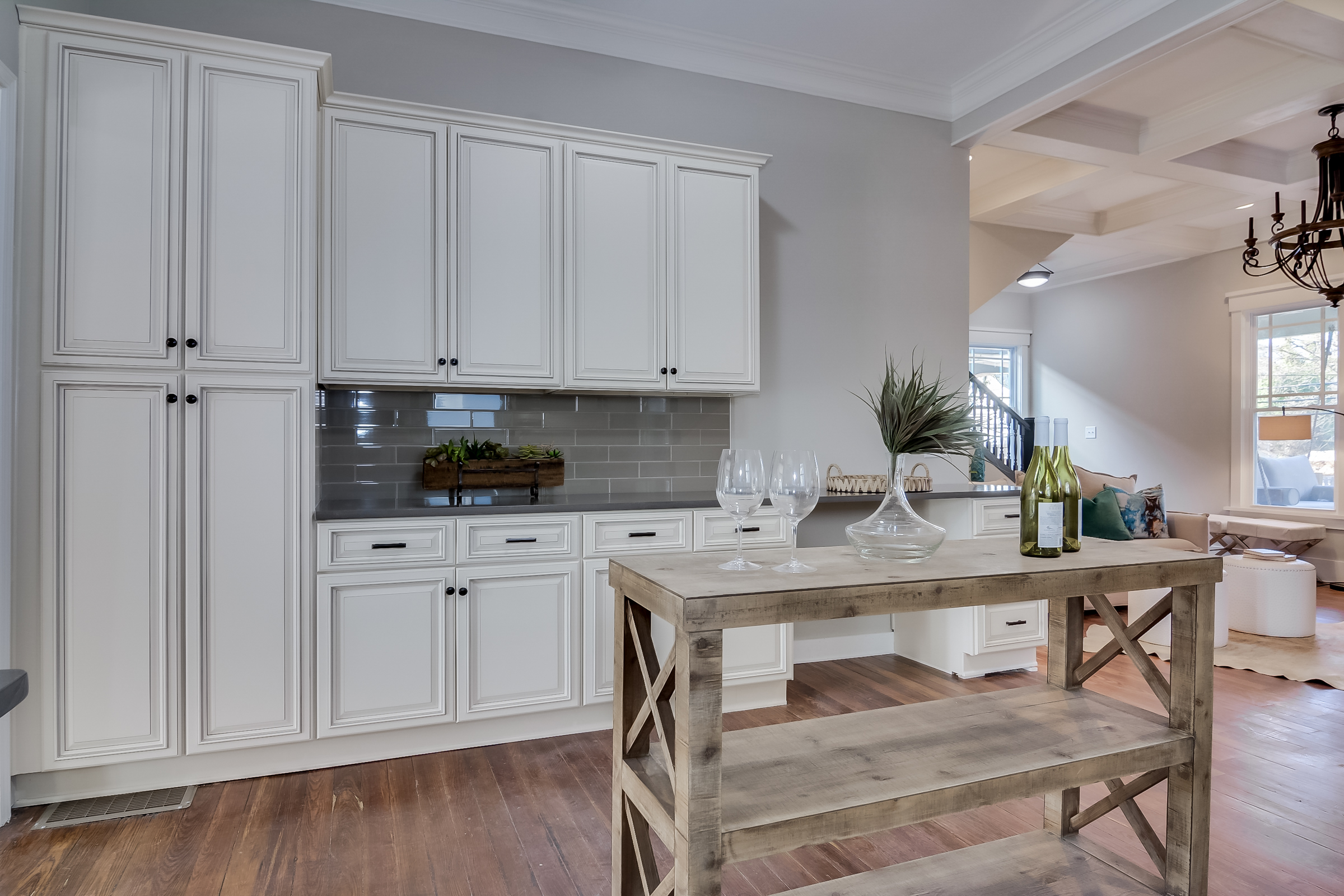 Cabinets: Forevermark Cabinetry, Lighting: Savoy House, Kitchen Sink/Faucet: Kohler