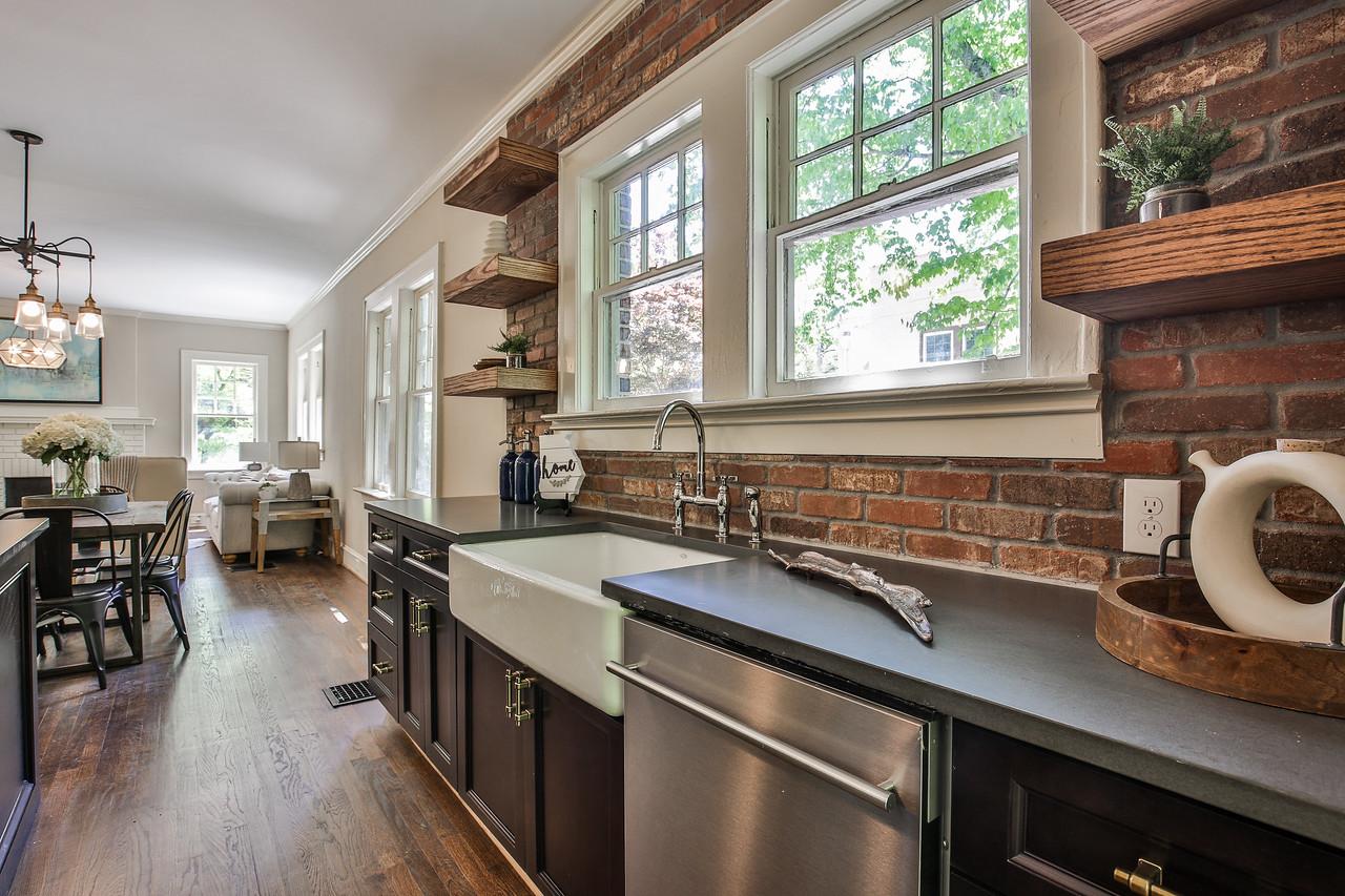 Lighting: Savoy House, Kitchen Sink/Faucet: Kohler, Cabinets: Forevermark Cabinetry, Counters: Hanstone Quartz, Appliances: Blomberg, Cabinet Pulls: Liberty Hardware