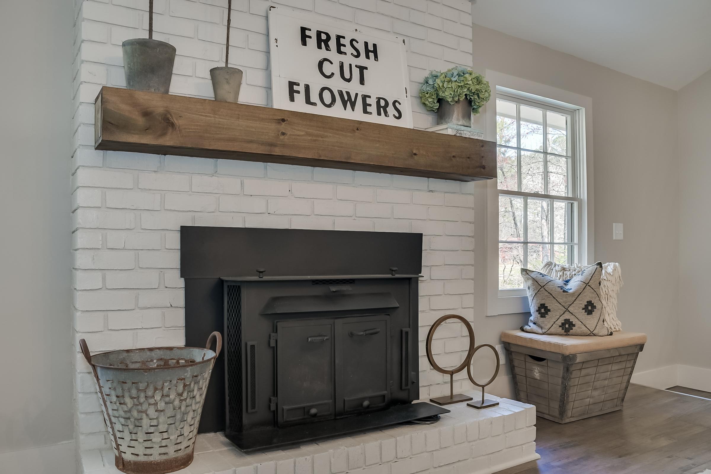 Lighting: Savoy House, Staging: Urban Farmhouse, Flooring: Tarkett, Cabinets: Forevermark Cabinetry