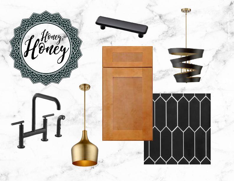 Lighting: Savoy House, Cabinets: Forevermark Cabinetry, Sink/Faucet: Kohler, Counters: Hanstone Quartz, Appliances: Blomberg, Flooring: Tarkett, Drawer Pulls: Liberty Hardware